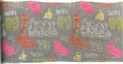 Henry Moore's textile designs
