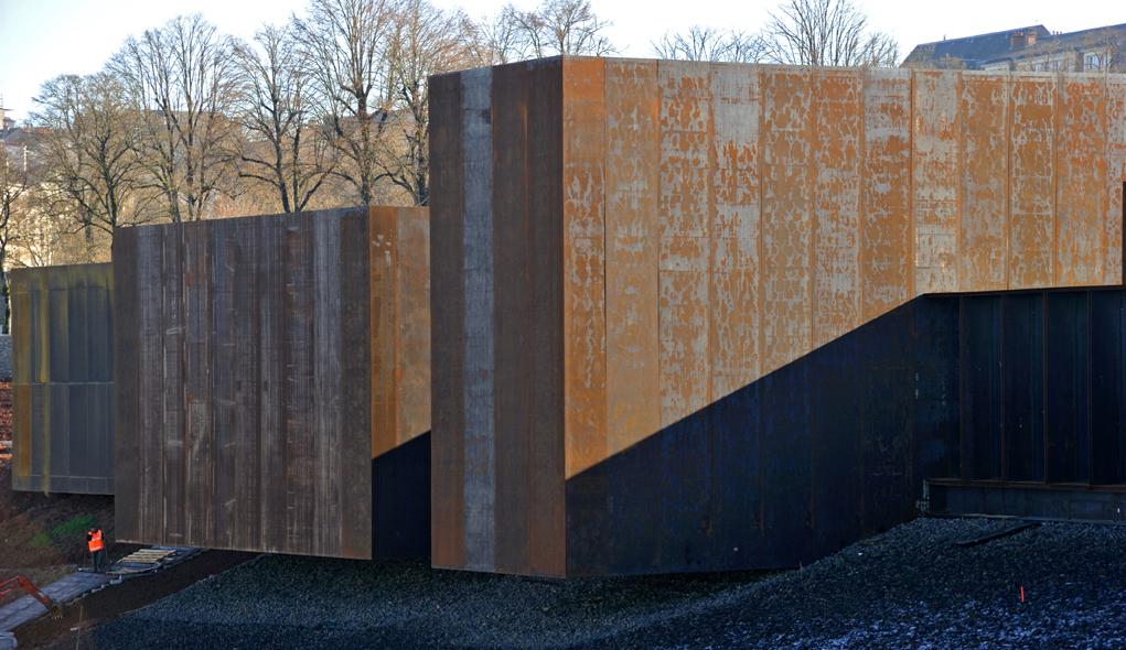 Soulages museum a fitting design by rcr arquitectes to - Musee soulages rodez horaires ...