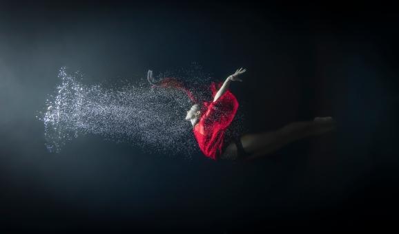 Underwater Dance Shoot