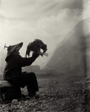 """Witch and Chicken"" (2006) Silver gelatin print, several sizes © Courtesy of M97 Gallery 