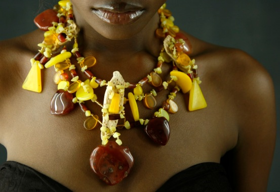 Tetou Gologa's jewellery