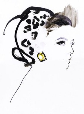 Fashion illustration post 1 David Downton