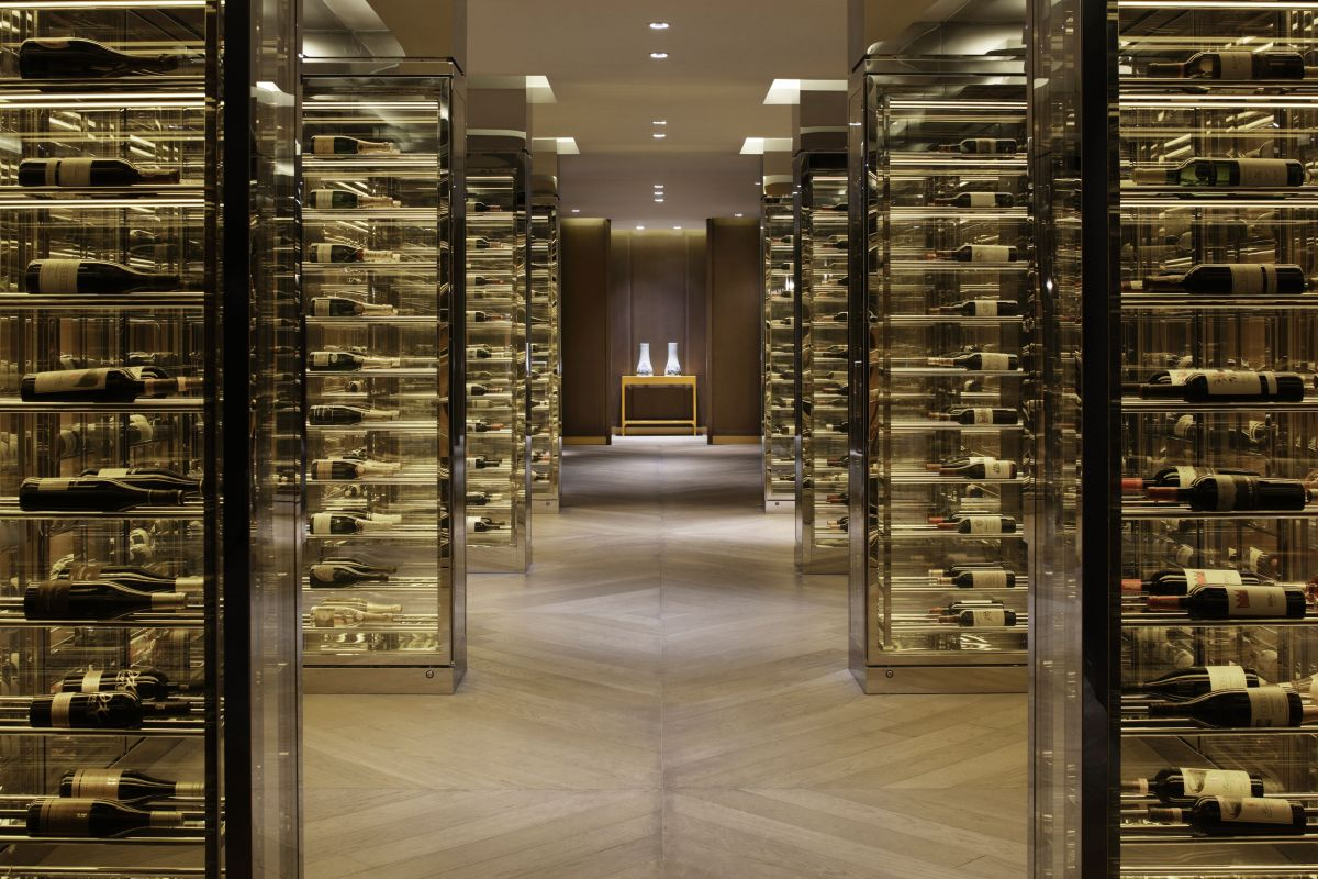 Refined glamour george yabu glenn pushelberg s interior for El furniture warehouse toronto menu