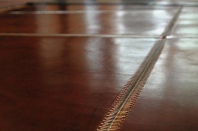 "Zip grid rug in ""Rich Brown"" bridle leather"