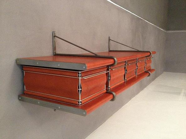 Steel & Leather Console by Jim Zivic