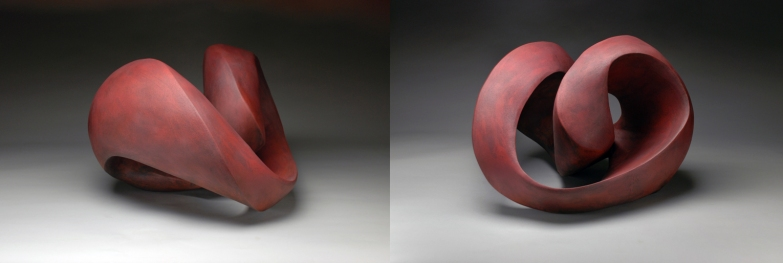 """Perpetual"" Series (red glaze) 2014"