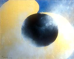 Kenji Yoshida's abstract painting