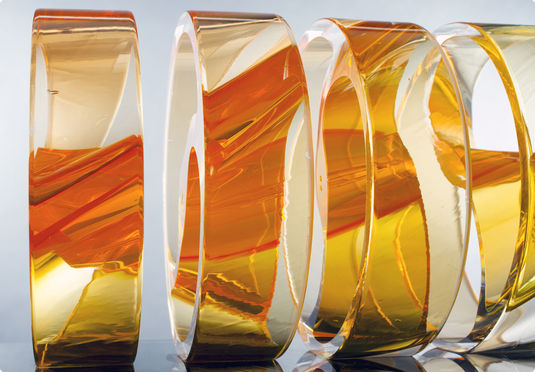 Philip Vickery's glass art