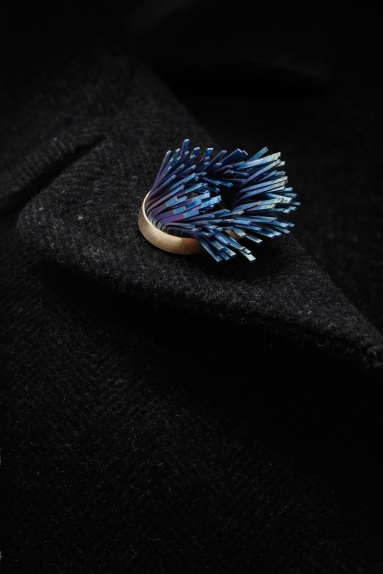 Windswept Brooch