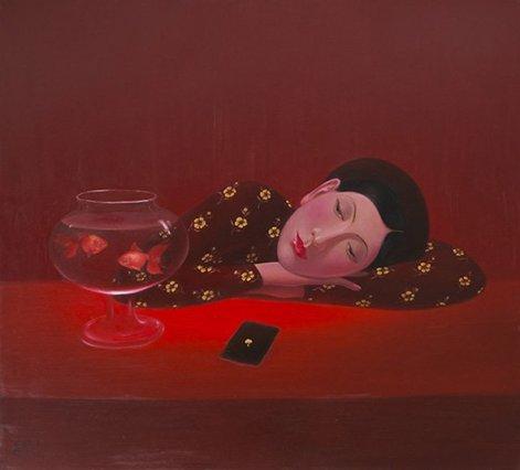 Nyten Khac Chinhn's paintings