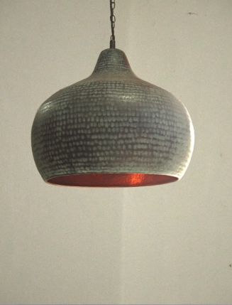 rezzeqiCraftsmanship-Pendant-Light-Beaten-Copper-Handmade-Hammered-Bali-Java-Rezzeqi