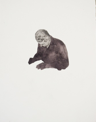 A Willingness to Forget 2 2013, 270x290mm Pencil and watercolour on Arches paper.
