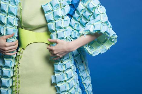 Bolor Amgalan's sculpted fashion