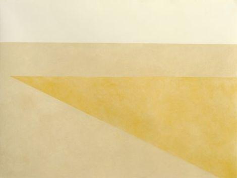 Desert drawing 4, yellow Series 1
