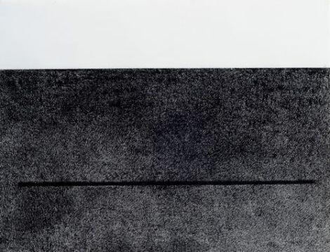 Black line on black