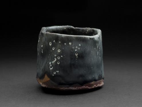 Robert Fornell Chawan , 2012 Ceramic 4 x 4 x 4 inches / 10.2 x 10.2 x 10.2 cm / RFo 68
