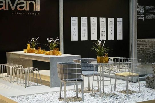 GRID collection at TIFF 2016 #galvanii #furniture #living #lifestyle #design #decorations #indoor #outdoor #industrial #galvanized #madeinthailand