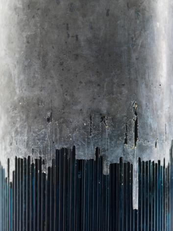 Round Blue (Detail)