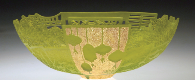 Binh Pho's glass acrylic art