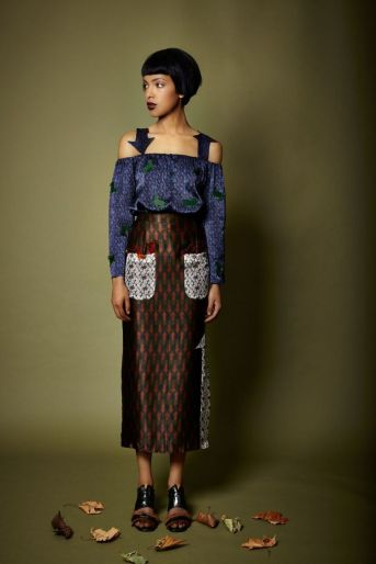 Lisa Folawiyo Formerly Known As Jewel Her Fashion Collection Using The West African Fabric Ankara She Lives In Lagos Nigeria See Blogroll For A Link Decanted
