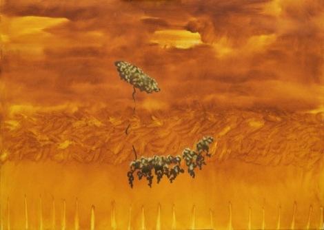 Nengi Omuku's painting