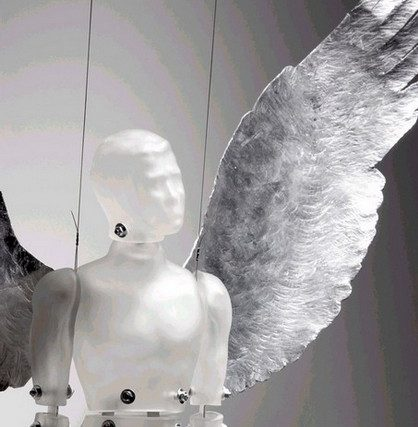 Simon Maberley's glass sculpture