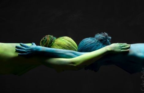 Art Color Ballet body painting