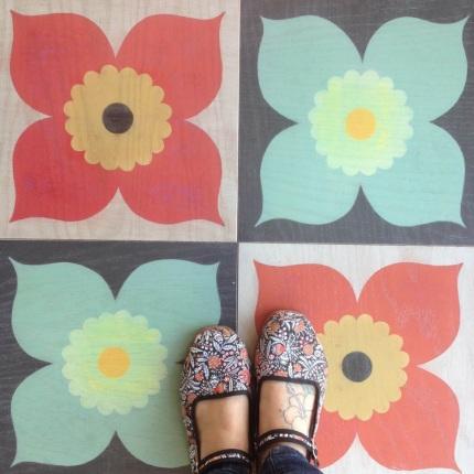 shoes on Poppy Coral Poppy Mint.jpg