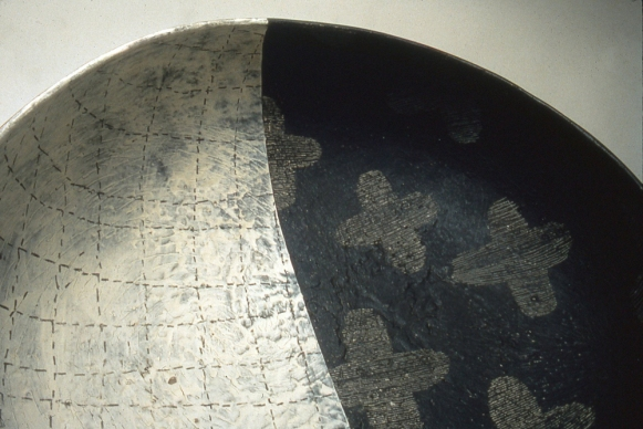 Untitled bowl, 1996 (detail)