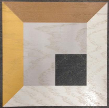 Antonino design in Standard size (12x12 Engineered Oak Wood tile) #MirthStudio #AntoninoBuzzetta
