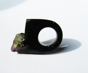 jade mellor hewn ring peacock ore black ring.JPG