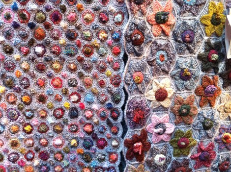 Sophie Digard's embroidery & crocheting