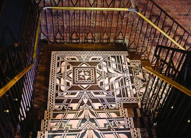 Image result for amuneal ted baker feature stair