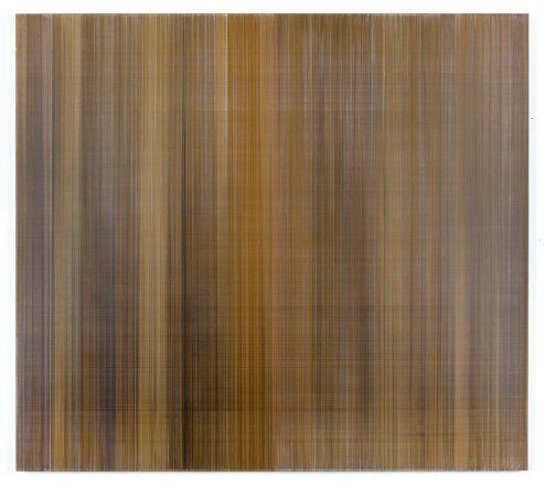 I know this light and it is gold 2016 graphite & colored pencil on mat board 58 by 51 inches