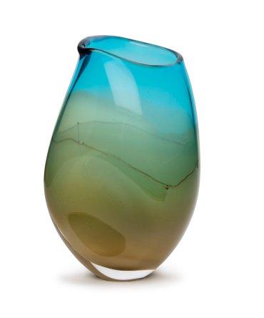Turquoise Ochre Seascape
