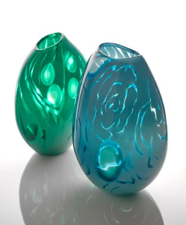 Blue Ripples and Emerald Pod