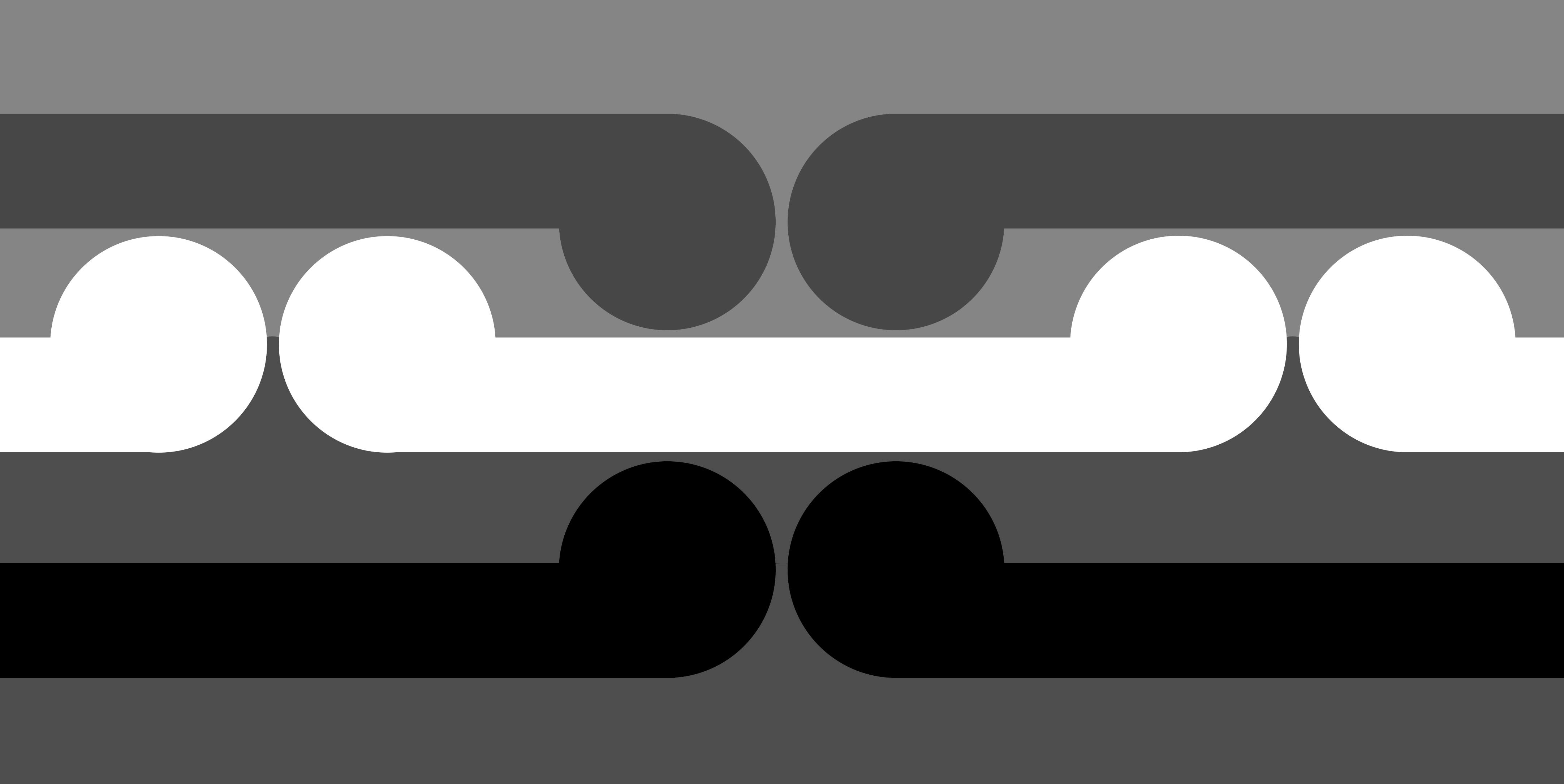 gordon walters LongWhiteCloud-Koru4a-BW